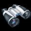 ícone de um binóculo