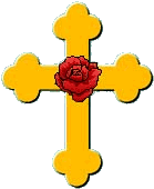 imagem da cruz rosacruz
