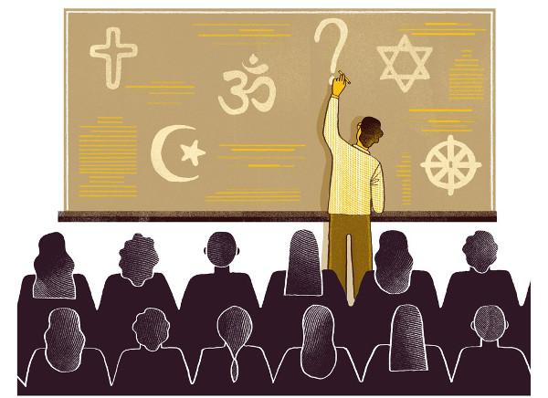 imagem de elementos do ensino religioso