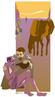Desenho adaptado da Parábola do Bom Samaritano, retirado do Evangelho de São Lucas, capítulo 10, versículos de 25 a 37. <br><br>Palavras-chave: Parábola, Bom Samaritano, Bíblia, evangelhos