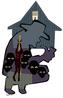 Esta imagem ilustra a história do Preto Velho: Pai Francisco de Luanda. Uma característica muito marcante nas religiões de Matriz Africana são os mitos e histórias relacionados aos orixás no Candomblé e as entidades como o Preto Velho da Umbanda. <br><br>Palavras-chave: Preto Velho, Candomblé, Religiões Afro, Orixás