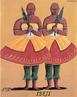 No Brasil, a devoção trazida pelos portugueses misturou-se ao culto africano da tradição Yorubá dos Orixás- Crianças. Segundo a lenda africana, os Orixás-Crianças são filhos de Irmenjá, a rainha das águas e de Oxalá, o pai de toda a criação. Uma característica da representação de Cosme e Damião, na umbanda, é que, junto à imagem dos dois irmãos, aparece a de um menino, vestido igual a eles e comumente chamado de Doúm ou Idowu, que personifica as crianças com idade com idade de até sete anos.<br><br>Palavras-chave: Orixás. Yorubá. Cosme e Damião. Crianças.