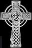 Símbolo cristão de uma cruz com quatro braços iguais envoltos por um círculo. <br><br> Palavras-chave: cruz, Cruz Celta, Cruz Solar, cristianismo, símbolo.