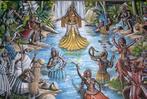 Uma das mais impressionantes marcas do estudo do Candomblé é a influência que os  Orixás  exercem em seus filhos. Ou seja, aqueles que nasceram sob o manto da vibração do  Orixá, o que não se pode saber por data de nascimento, mas por rituais próprios da religião.<br><br>Palavras-chave: Orixás, candomblé, nascimento, religião, ritos, paisagem religiosa