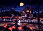 A maioria das tradições do Halloween tem sua origem no Samhain (sou-em), o antigo Ano Novo Celta. Samhain, que significa &quot;final do verão&quot;, ocorria no final de outubro, quando o clima começava a esfriar. Em suma, o Samhain era um rito referente a todas as coisas importantes que aconteciam durante essa mudança de estação. O Samhain também marcava a colheita final do ano, um evento comemorado com festivais em muitas culturas. <br><br> Palavras-chave: Halloween, festival, ritos, outubro, celtas, tradições, paisagem religiosa, colheita
