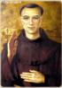 Santo Antônio de Sant'Ana Galvão, mais conhecido como Frei Galvão (Guaratinguetá, 1739 — São Paulo, 23 de dezembro de 1822) foi um frade católico e primeiro santo nascido no Brasil. Foi canonizado pelo papa Bento XVI durante sua visita ao Brasil (São Paulo) em 11 de maio de 2007. Sua festa é celebrada no dia 25 de outubro. <br><br> Palavras-chave: Santo, Antônio Santana Galvão, Frei Galvão, Símbolo religioso, Catolicismo, Cristianismo