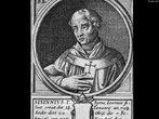O mandato de Sisínio, eleito em janeiro de 708, durou 21 dias. <br> <br> Palavras-chave: papa, cristianismo, Sisínio, poder, papado