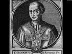 O papa Teodoro ficou apenas 20 dias no poder, de novembro a dezembro de 897. <br> <br> Palavras-chave: papa, cristianismo, Teodoro, poder, papado